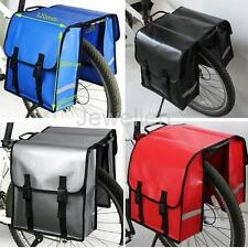 30L Double Panniers Bag Cycle Cycling Bike Bicycle Rear Rack Pannier Pouch Set