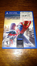 THE AMAZING SPIDER-MAN FOR PS VITA (SONY PLAYSTATION VITA) GOOD CONDITION