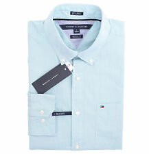 Tommy Hilfiger Men Long Sleeve Custom Fit Button Down Plaid Shirt - $0 Free Ship