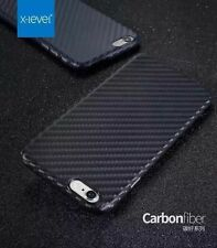Real Slim Unique Synthetic Carbon Fiber Back Case Cover Skin For iPhone 7 7 Plus