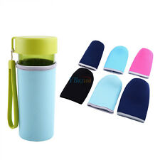 New Water Bottle Pouch Carrier Insulated Cover Sport Case Bag Holder Sleeve