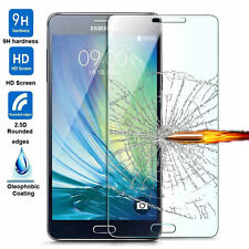 New 100% Genuine Premium Tempered Glass Screen Protector Film For Samsung Phones