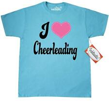 "Inktastic I Love Cheerleading T-Shirt ""cheerleading"" ""gift For Lover"" ""i Heart"