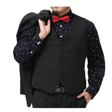 Mens Formal Slim Fitted Vest Waistcoat Plus Large Size Provide /Size:XL-6XL