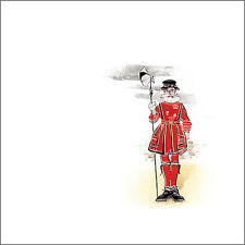 Decorative traditional Yeoman Beefeater design ceramic wall tile