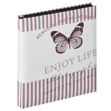 Walther Mariposa Pink 6x4 Slip In Photo Album - 400 Photos Overall Size 12x13