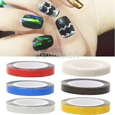 20M Long Wide Rolls Striping Tape Line Nail Art Tips DIY Decoration Stickers
