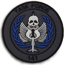 CALL OF DUTY TASK FORCE 141 USA ARMY MORALE BADGES 3D Embroidered HOOK PATCH #3