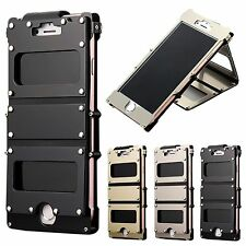 ARMOR KING Shockproof Aluminium Metal Flip Case Cover Stand For iPhone 7/7 Plus