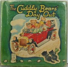 THE CUDDLY BEARS' DAY OUT - A FATHER TUCK LITTLE BOOK 1st HB UK 1940