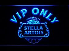 Stella Beer LED sign VIP Neon Sign On/Off home pub bar wall decor mens gift