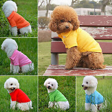 Nice Cute New Pet Doggy Apparel Dog Cool Puppy T-Shirts Clothes Size XS S M L XL