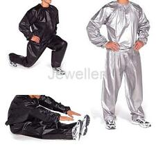 Heavy Duty Gym Exercise Training Sauna Sweat Suit Slimmer Weight Loss Anti-Rip