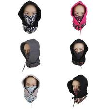 Motorcycle Thermal Fleece Balaclava Neck Warmer Winter Ski Full Face Mask Cap