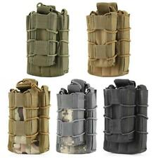 MOLLE Tactical Military Double Rifle / Single Pistol Holster Magazine Pouch Case