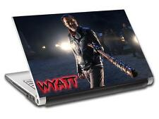 The Walking Dead 7 Negan Personalized LAPTOP Skin Vinyl Sticker ANY NAME L301