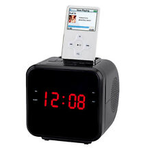 Supersonic 1.2 Ipod/Iphone Docking Station With Am/Fm Radio And Alarm Clock
