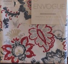 Envogue Inside & Outside Tablecloth  Easy Clean  Red White & Blue