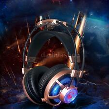 Pro Esport Gaming Stereo Music Headset Over-ear LED Headphone w/ Microphone D2X4