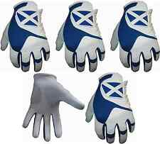 5 Scotland All Weather Golf Gloves Cabretta Leather Thumb and Palm Patch