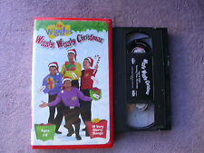 The Wiggles Wiggly Wiggly Christmas Classic VHS