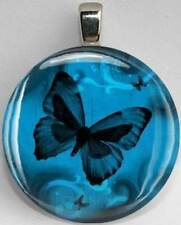 Handmade Interchangeable Magnetic Butterfly #5 Pendant Necklace