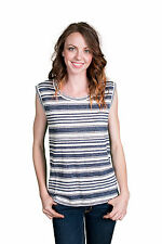 Velvet by Graham and Spencer Lada Striped Tank Top