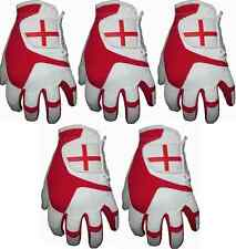 5 England All Weather Golf Gloves Cabretta Leather Thumb and Palm Patch