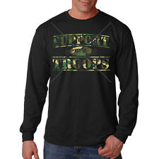 Support Our Troops Army Navy Air Force Marines USA Freedom Long Sleeve T-Shirt