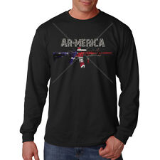 AR-15 America 2nd Amendment Freedom USA United States Long Sleeve T-Shirt