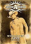 Jason Aldean: Wide Open Live and More (DVD w/ Booklet, 2009)  (D40)