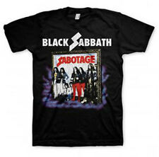 Black Sabbath: Sabotage T-Shirt  Free Shipping  NEW  Official