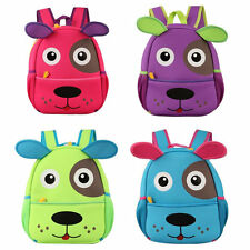 3D Animal Cartoon Dog Kindergarten School Bags Children Kids Baby Backpack HR