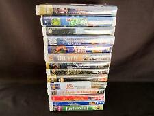 Lot 14 VHS Childrens Movies NOS Claim Shell case shrink wrapped Disney WB & more