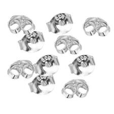 10pcs Sterling Silver Butterfly Earring Back Stopper for Ear Stud Findings