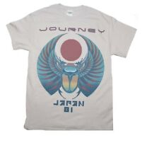 Journey Japan '81 T-Shirt Officially Licensed Light Gray Mens Tee S M L XL