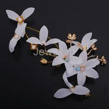 Hot Fashion Bridal Flower Pearls Hair Clips Wedding Hairpieces Accessory