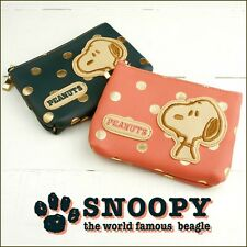 PEANUTS SNOOPY Tissue Pouch Makeup Purse Cosmetic Case Mini Bag Japan R2065