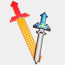 Minecraft Toys Colorful Minecraft Sword Foam Action Figures Toys 60-80CM Newest
