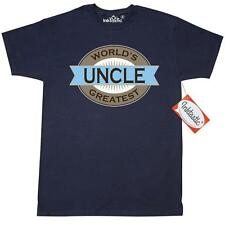 Inktastic Uncle (Worlds Greatest) T-Shirt Worlds Greatest Gift For Uncles Gifts