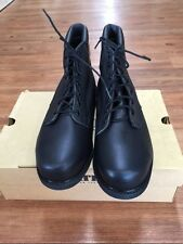 Bates Mens Steel Toe Safety Work Boots Biltrite Soles 00523 D Size 12 1/2 EW NOS
