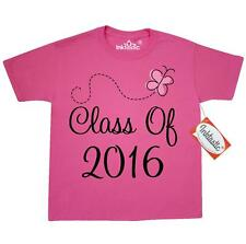 Inktastic 2016 School Class Butterfly Youth T-Shirt Of Graduation Senior Gift