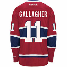 GALLAGHER Montreal Canadiens Reebok Premier Officially Licensed NHL Jersey, 2XL