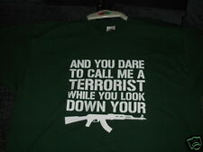 "IRISH REPUBLICAN ""YOU DARE TO CALL ME A TERRORIST"" TSHIRT BRAND NEW S~XXXL"