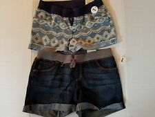 Arizona Jean Co. Girls Shortie Shorts  Sizes 14 Plus 18 Plus NWTJean or Geo