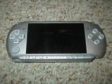Sony PSP 3001 Mystic Silver Handheld System Tested Playstation Portable 3000