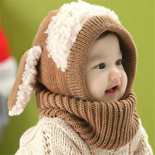 New Cute Kids Infant Winter earmuffs Warm Cap Toddler Baby Boy Girl Hat Beanie