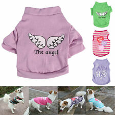 Comfortable Pet Dog Cat Puppy Doggy Clothes Summer Vest T Shirt Coat Costumes