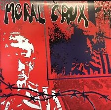 "MORAL CRUX NEW/SEALED LIMITED EDITION CLEAR VINYL ""s/t"" HARDCORE/PUNK LP"