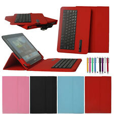"HOT Wireless Bluetooth Keyboard Cover Case For 9.7"" 10"" 10.1"" inch Tablet PC+Pen"